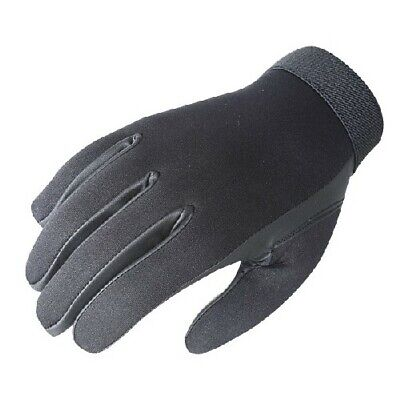 Voodoo Tactical 01-663501094 Black Neoprene Police Search Gloves Size Large