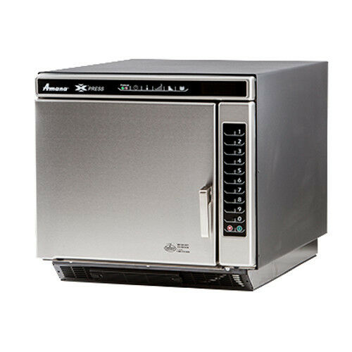Amana Ace14n Commercial Convection-microwave Combi Oven W/ Braille Touch Pad