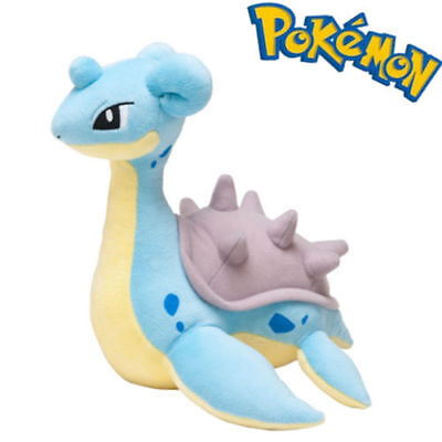 Pokemon Center 8 inch Lapras Soft Stuffed Plush Toy Doll US Shipped Kids Gift