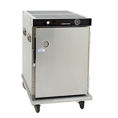 Cres Cor H-339-188c Mobile Half Height Heated Cabinet