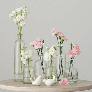Bud Vase, Wedding centerpiece, mercury votives