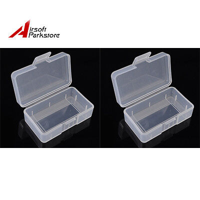 2X Soshine AA or 9V Battery Case Box Holder Storage for 1pc 9V or 2xAA battery