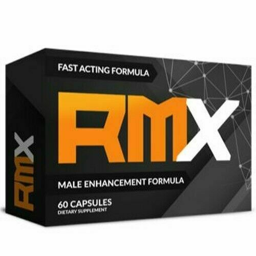 RMX Male Enhancement Stamina Supplement - 60 Capsules Free Shipping