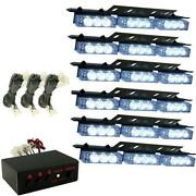 White LED Emergency Lights