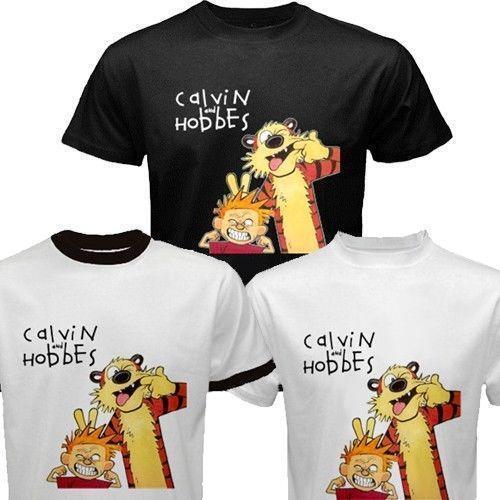 a0b409d6 Calvin and Hobbes Shirt   eBay