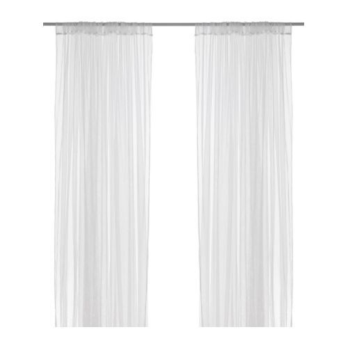 White Net Curtains