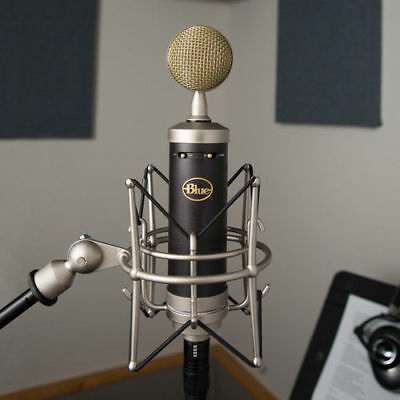 - BLUE Baby Bottle SL Large Diaphragm Studio Condenser Mic Microphone Mint in Box!