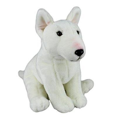Plush Dog BULL TERRIER -Soft Cute Collectible Toy- Stuffed Animal-Branded Gift