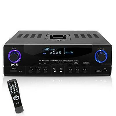 Home Audio Power Amplifier System - 500W 4 Channel Theater P