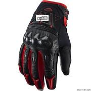 Red Motorcycle Gloves