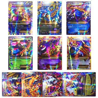 Pokemon EX Cards Rare All MEGA Holo Flash Trading Card Game Pocket Monster 20Pcs