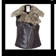 River Island Fur Gilet