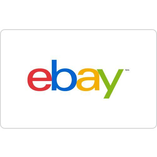 eBay Gift Card $50 & $100 - mail delivery