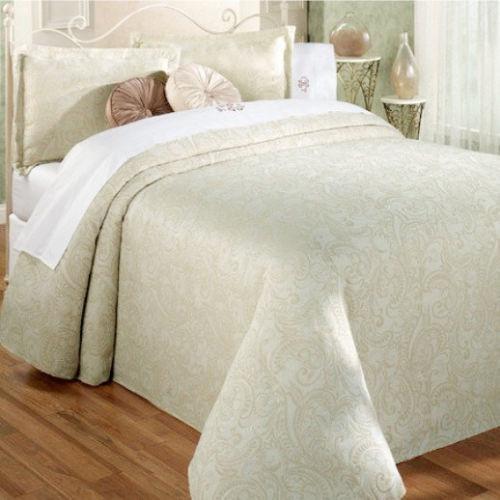 Green Queen Bedspread Ebay