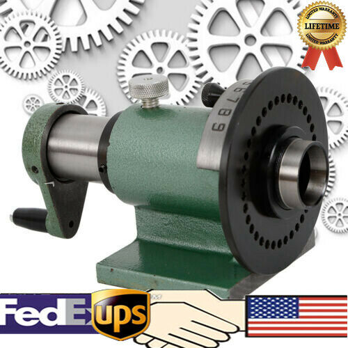 Indexing Fixture / Collet Indexer Precision PF70/5C Spin Index Fixture Jig US