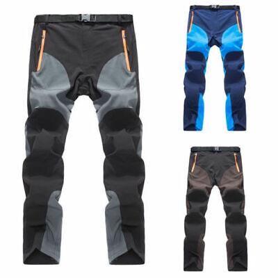Uomo Azione Abbigliamento da Lavoro Cargo Pantaloni Militari Campeggio IT