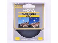 Hoya 58 mm Slim PL-CIR Filter (Slightly Used)