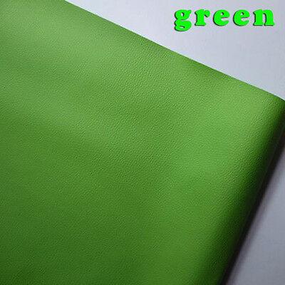 Ткань Green Small Lychee PU leather