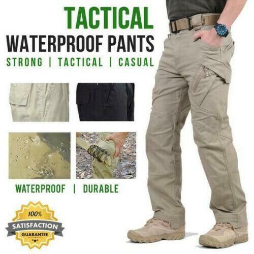 Soldier Tactical Waterproof Pants Men Cargo Pants Combat Hik