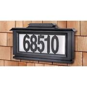 Lighted Address