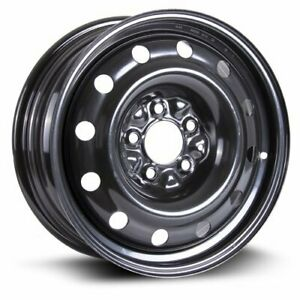 "6 Bolt 17"" Black Steel Rims 7.5"" wide 115mm Bolt Spacing"