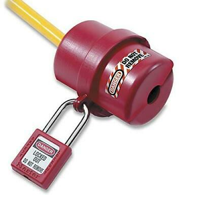 Master Lock 487 Rotating Electrical Plug Lockout For 110v And 220v Plugs