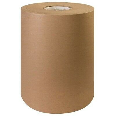12 X 1200 Brown Kraft Paper Roll 30lb Shipping Wrapping Packaging Cushioning