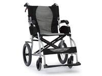 Karma Ergo Lite Series KM-2501 Lightweight Wheelchair.