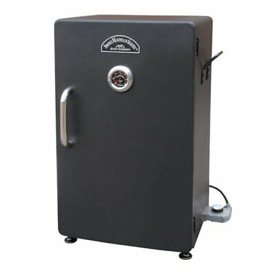 Cabinet Electric Food Smoker - Black - Electric - 3 Sq. Ft. Cooking Area - 3 X