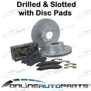 Disc Rotors Drilled Slotted