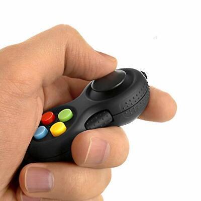 Fidget Pad with 8-Fidget Functions 2nd Generation Fidget Toy Controller Stress