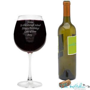 huge wine glass ebay. Black Bedroom Furniture Sets. Home Design Ideas