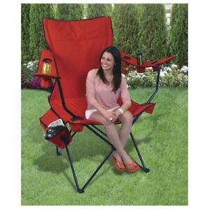 Guidesman™ Kingview Oversized Red Quad Patio Chair- Brand NEW!