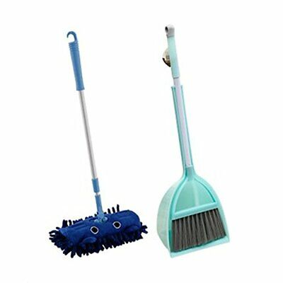 Xifando Mini Housekeeping Cleaning Tools for Children3pcs Include MopBroomDus...