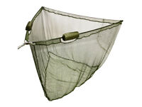 "NGT Landing Net 42"" Dual Float Carp Fishing Specimen Green Mesh NEW"