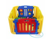 FOR SALE SECOND HAND MCC 4 BABIES PLAYPEN IN VERY GOOD CONDITION