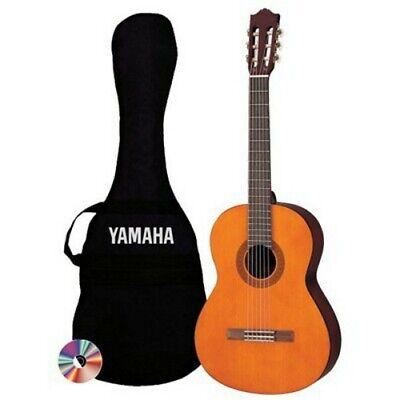 Yamaha C40 PKG Acoustic Nylon String Classical Guitar Package
