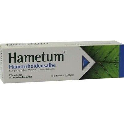 HAMETUM Hämorrhoiden Salbe 50 g 07579894