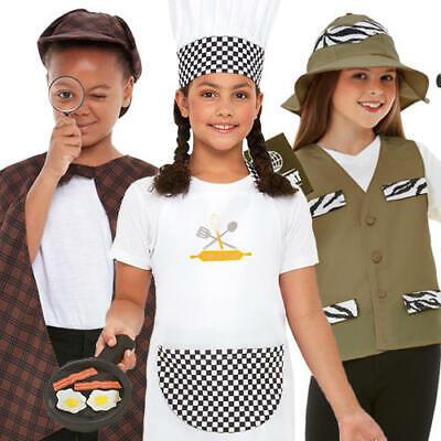 Occupation Kits Kids Fancy Dress Detective Chef Explorer Boys Girls Costume Sets](Occupation Fancy Dress)