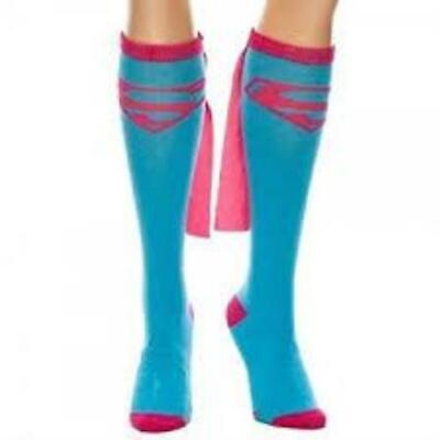 Supergirl Knee High Socks (DC Comics Supergirl Knee High Socks With)