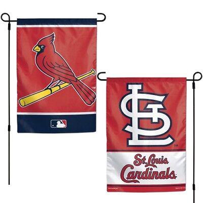 ST. LOUIS CARDINALS 2 SIDED GARDEN FLAG 12