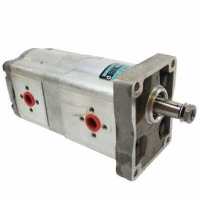 Hydraulic Pump - Tandem - Dynamatic Compatible With Case David Brown 1212 990