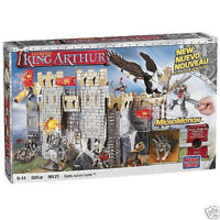 MEGA BLOKS CHATEAU LEGENDS KING ARTHUR 550 pcs 96121 comme Lego