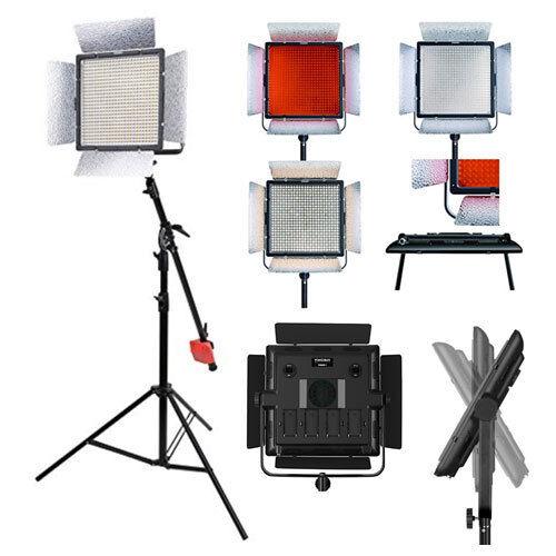YONGNUO YN900 II Pro LED Video Light Studio Lamp with 5500K Color Temperatur NEW