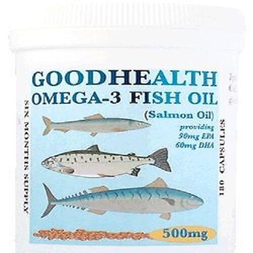 OMEGA-3 FISH OIL, 500mg, 720 CAPSULES