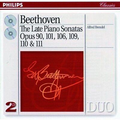 Alfred Brendel - Late Piano Sonatas [New CD]