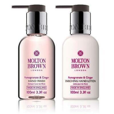 Molton Brown Pomegranate & Ginger Hand Wash & Enriching Hand Lotion Duo SEALED