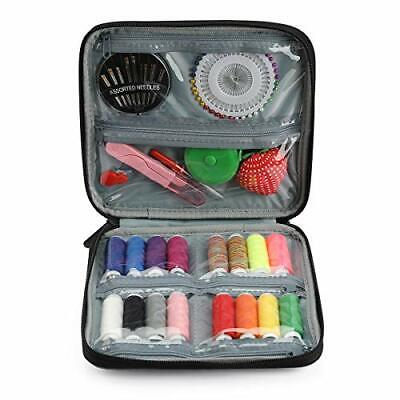 Adelane Portable Sewing Kit for Traveler Beginner Sewing Supplies with Sewing...