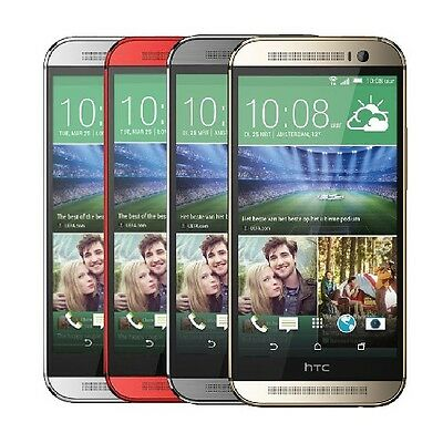 HTC One M8 6525 32GB Verizon GSM Unlocked - Gray - Silver - Gold - Red
