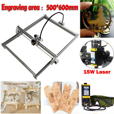 Mini Cnc 5060 Engraving Router Diy Machine Wood Milling Router15w Laser Module
